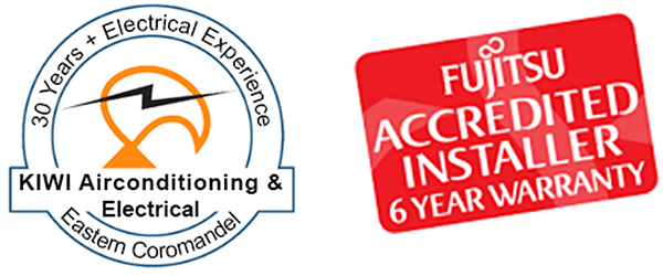 Kiwi Airconditioning & Electrical FUJITSU Accredited Installer