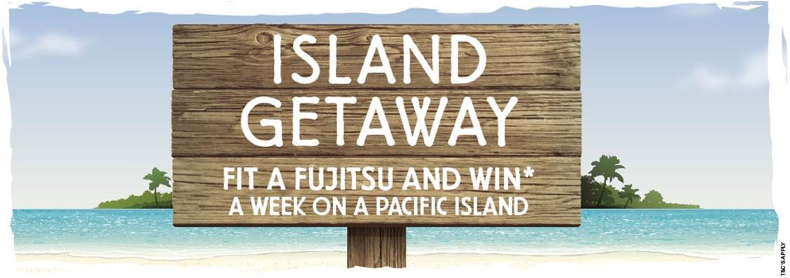 Kiwi Airconditioning Fujitsu Island Getaway